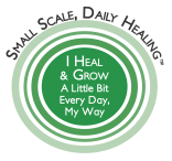 Small Scale, Daily Healing logo