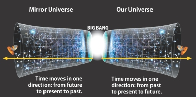 Our universe with potential inverse universe
